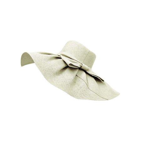 Elegant Toyo Wide Brim Floppy Hat Ladies Toyo Hat