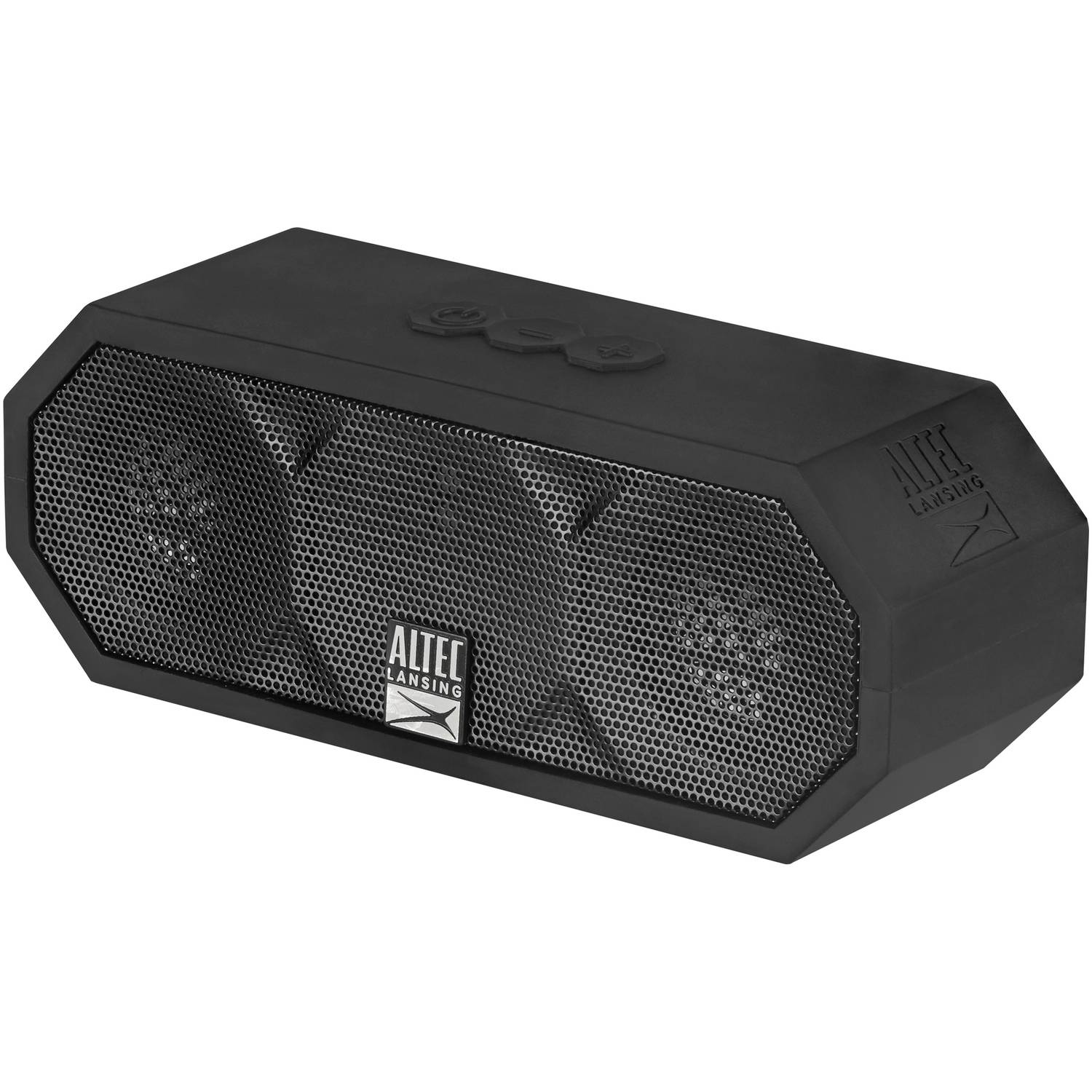 Altec Lansing iMW457 Jacket H20 Bluetooth Speaker, Black by Altec Lancing