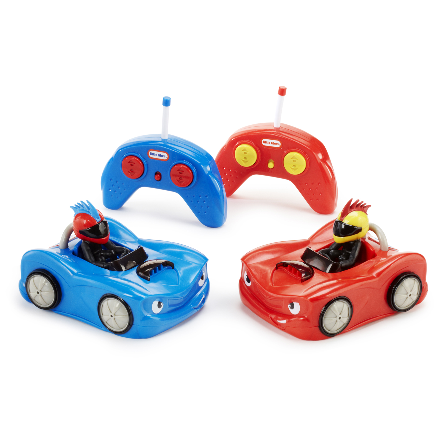 Little Tikes RC Bumper Cars - Set of 2