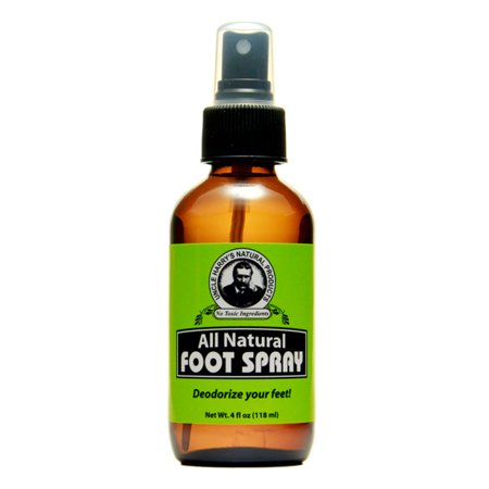 Foot Spray by Uncle Harry's Natural Products (4oz (Best Foot Odour Products)