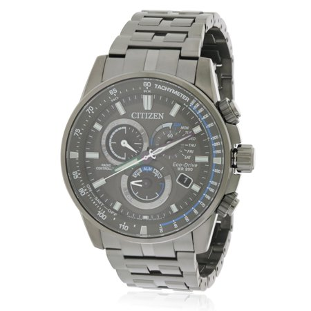 Citizen PCAT Grey Dial Stainless Steel Men's Watch AT4127-52H
