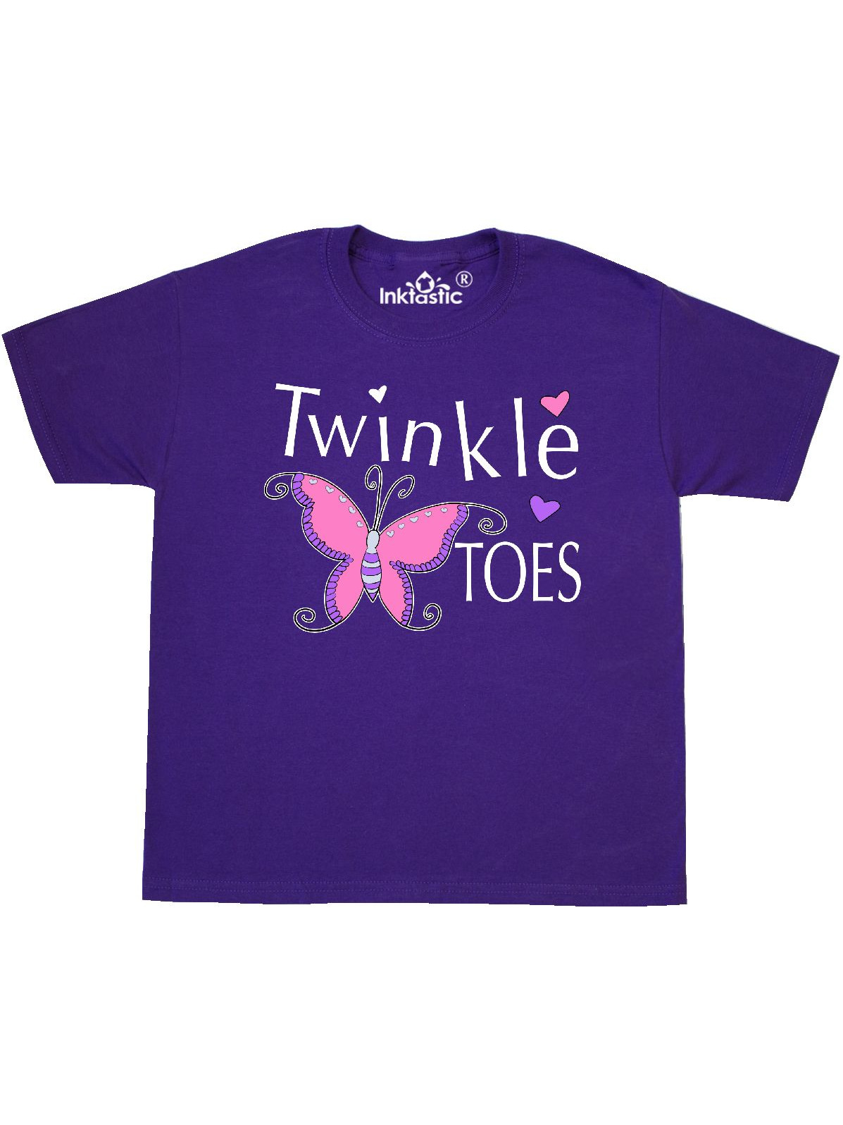 inktastic Twinkle Toes Toddler T-Shirt