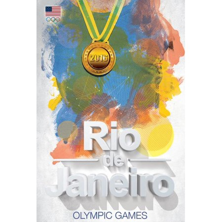 Olympics 2016 Rio de Janeiro Sports Poster 24x36 inch