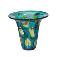 Imagination Glass Vase in Multi-Colored Finish