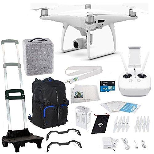 DJI Phantom 4 PRO Quadcopter Starters Travel Backpack Bundle