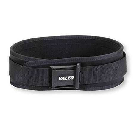Valeo VCL4 Competition 4 Inch Lifting Belt, Weight Lifting, Olympic Lifting, Weight Belt, Back Support Valeo Fitness Gear Cotton