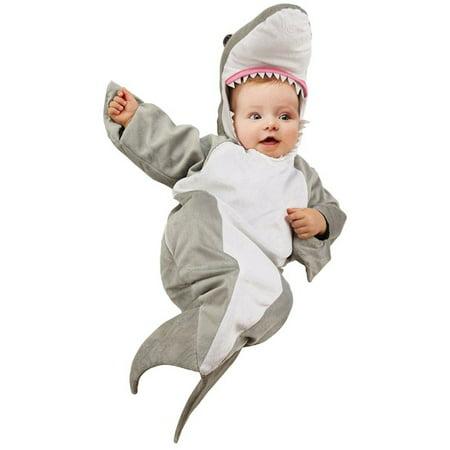 Newborn Monkey Halloween Costumes (Shark Bunting Newborn Halloween)