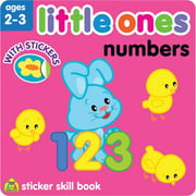 Little Ones Sticker Skill Book, Numbers