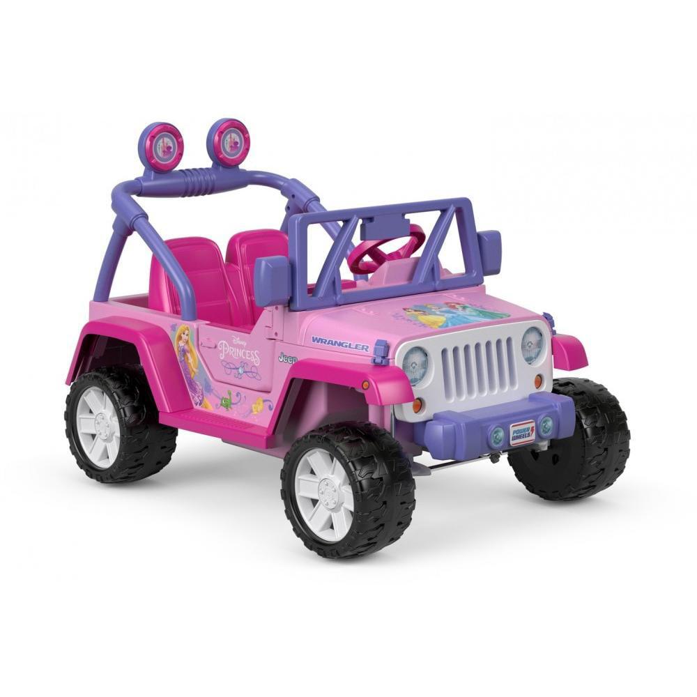 Power Wheels Disney Princess Jeep Wrangler Kids Children ...