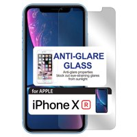 iPhone XR, Anti-Glare Tempered Glass Screen Protector for Apple iPhone XR by Cellet