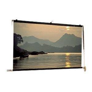 Scenic Roller Manual Wall and Ceiling Projection Screen ()