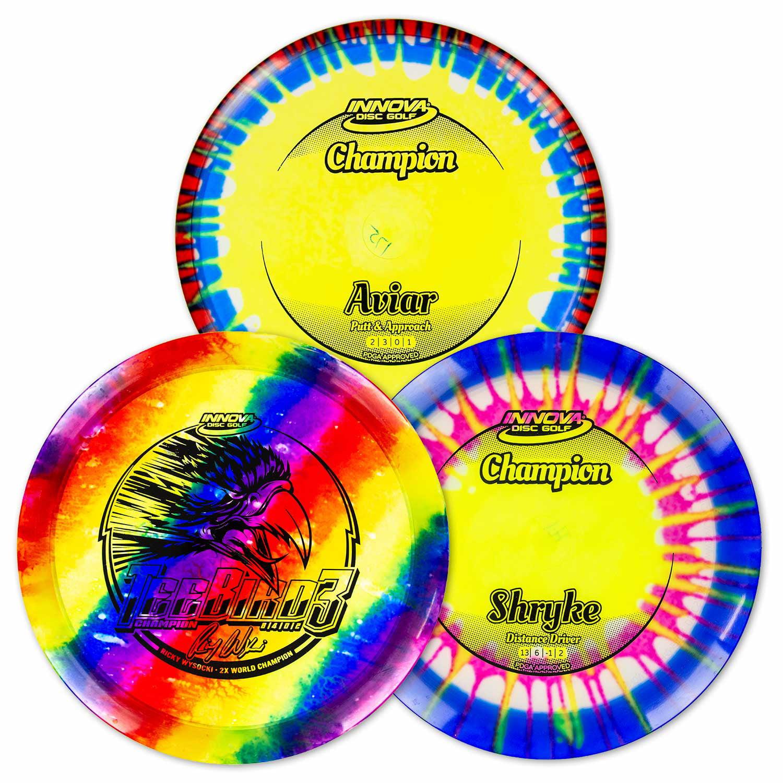 Innova Discs - I-Dye Champion Disc Golf Advanced Set ...