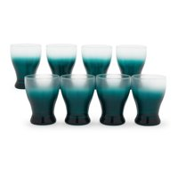 Ombre Glass Drinkware Sets, 8 Piece by Drew Barrymore