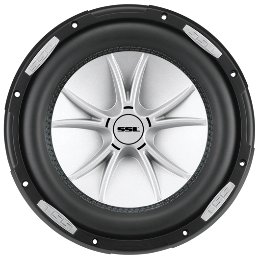 "Soundstorm SLR10DVC SLR Series Dual 4Ω Voice-Coil Subwoofer with Polypropylene Cone, 10"", 2,000 Watts"