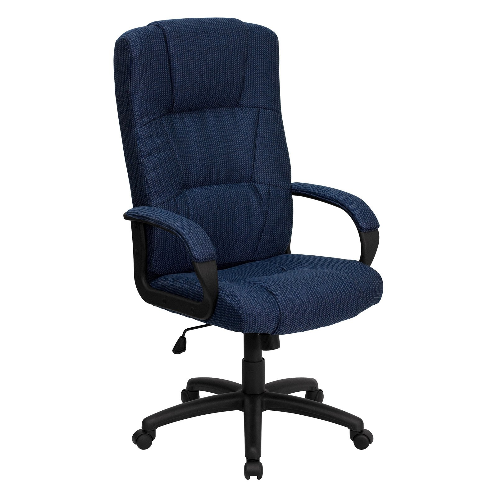 High Back Executive Fabric Office Chair, Multiple Colors