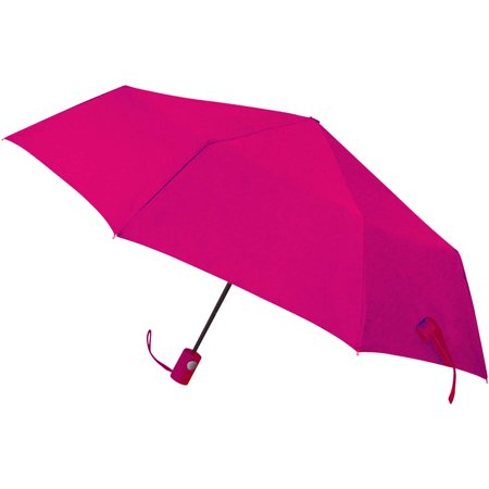 42 Auto open super mini umbrella, windproof frame, color matching rubber spray handle - Mini Umbrellas