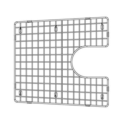 Blanco 226828 Sink Grid, Fits Performa Silgranit II 1-3/4 medium 1-3/4, Large bowl, (Performa Bowl)
