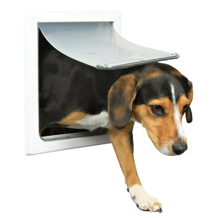 Medium Dog Door - Trixie Pet 2-Way Dog Door, Small - Medium