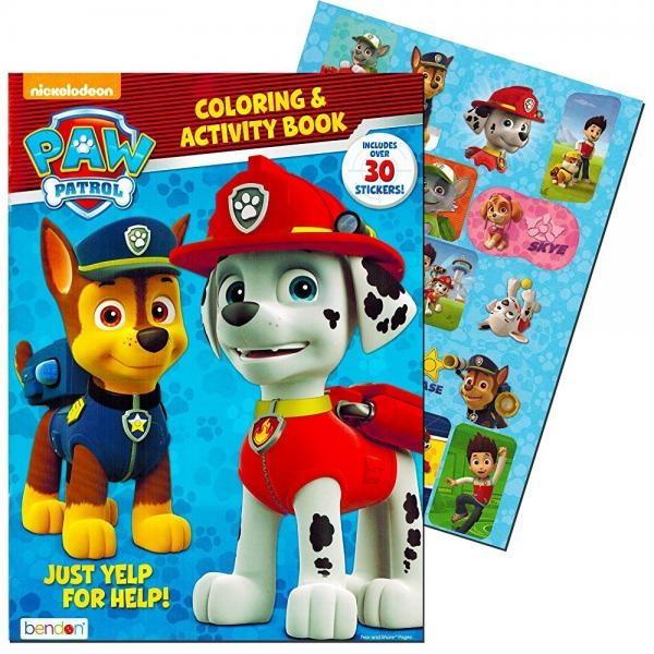 Paw Patrol Coloring & Activity Book - Walmart.com - Walmart.com