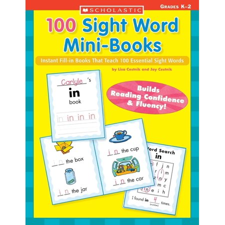 Unique Teaching Resources Halloween (Teaching Resources: 100 Sight Word Mini-Books: Instant Fill-In Mini-Books That Teach 100 Essential Sight Words)