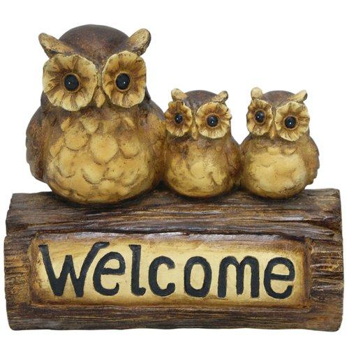 Welcome Owl Statue Walmartcom