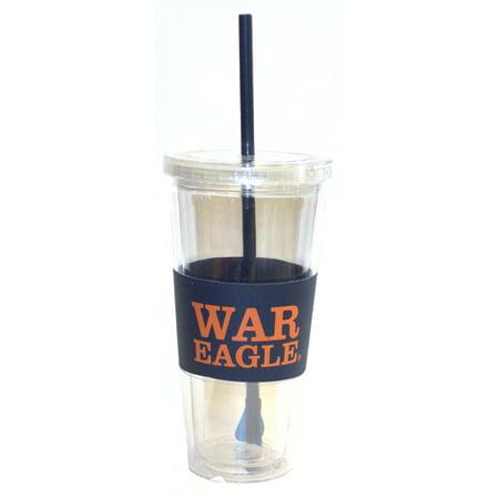 "Auburn Tigers ""War Eagles"" 22 oz Slogan Tumbler"