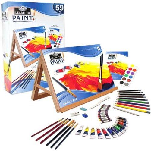 Learn To Paint 59 Pc Art Set
