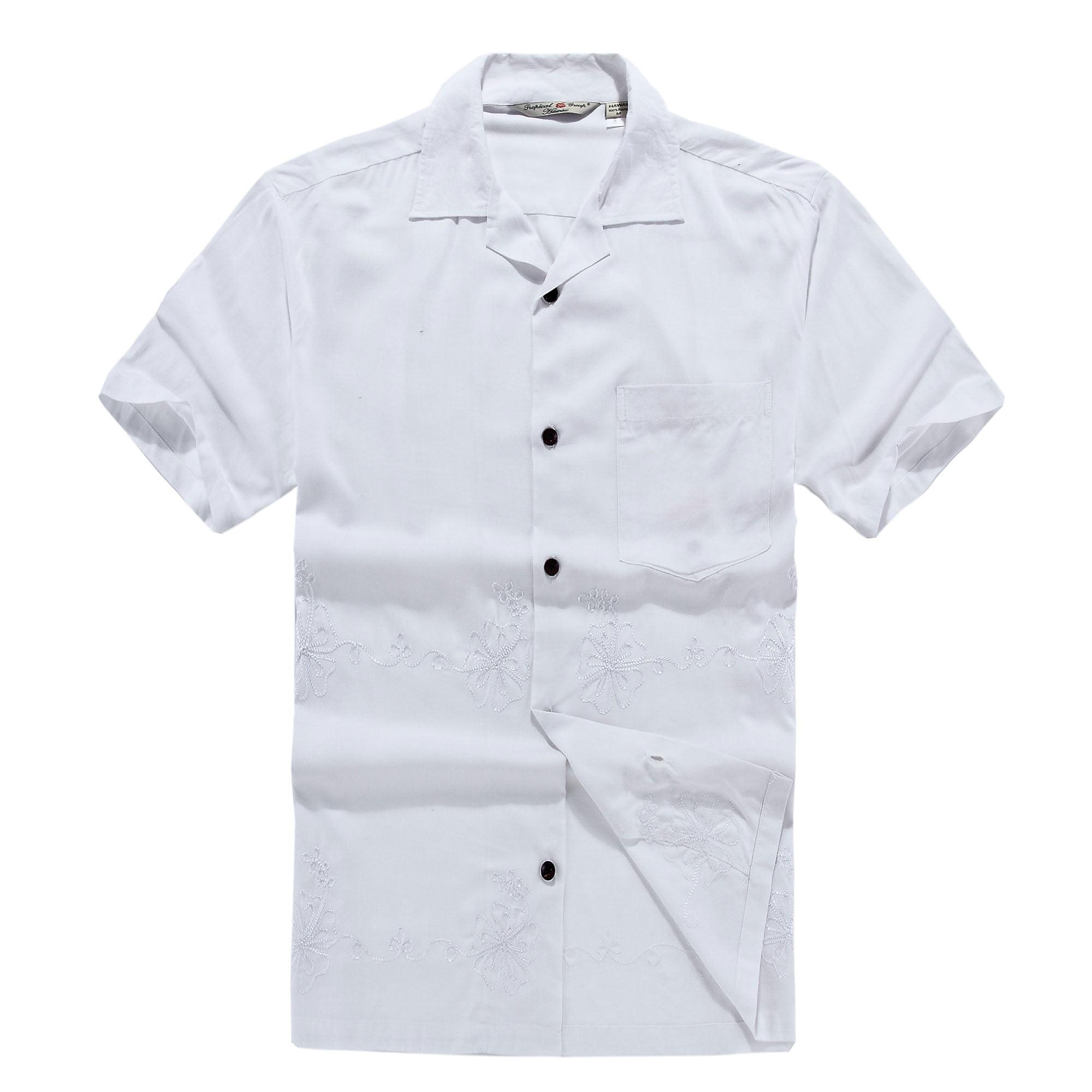 Hawaii Hangover Mens Hawaiian Shirt Aloha Shirt Xl White