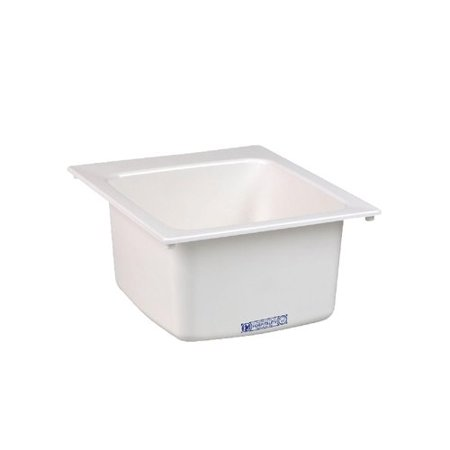"Mustee 11 Utility Sink 17"" x 20"", White"