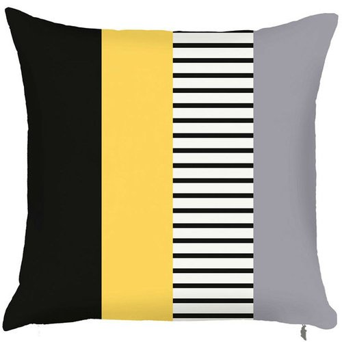Debage Inc. Spring Layered Line Throw Pillow (Set of 2)