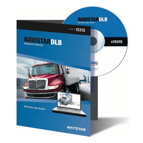 NEXIQ Technologies 828005 Navistar Diamond Logic Builder (DLB) Fleet Diagnostic Software