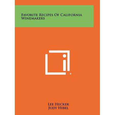Favorite Recipes of California