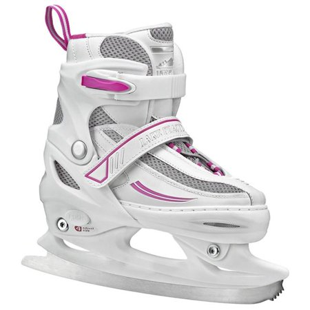Lake Placid LP204G13 Cascade Girls Figure Ice Skate, White, Youth Size - 13 - image 1 of 1