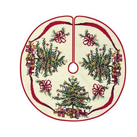 42 needlepoint christmas tree skirt christmas tree - Walmart Christmas Tree Skirts