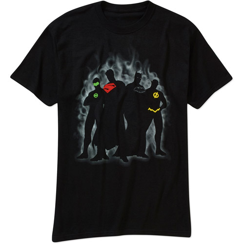Justice League Men's Graphic Tee