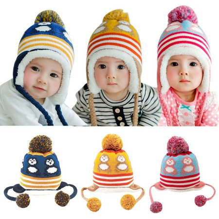 6e3289d99 Kacakid - Kacakid Winter Warm Korean Cute Baby Hat Penguin Newborn ...