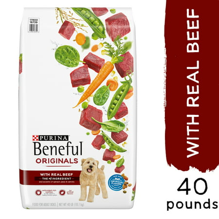 Purina Beneful Dry Dog Food Originals With Real Beef 40 lb. Bag