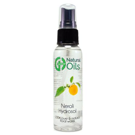 Neroli Floral Water 2 oz Plastic Bottle w/ Black -