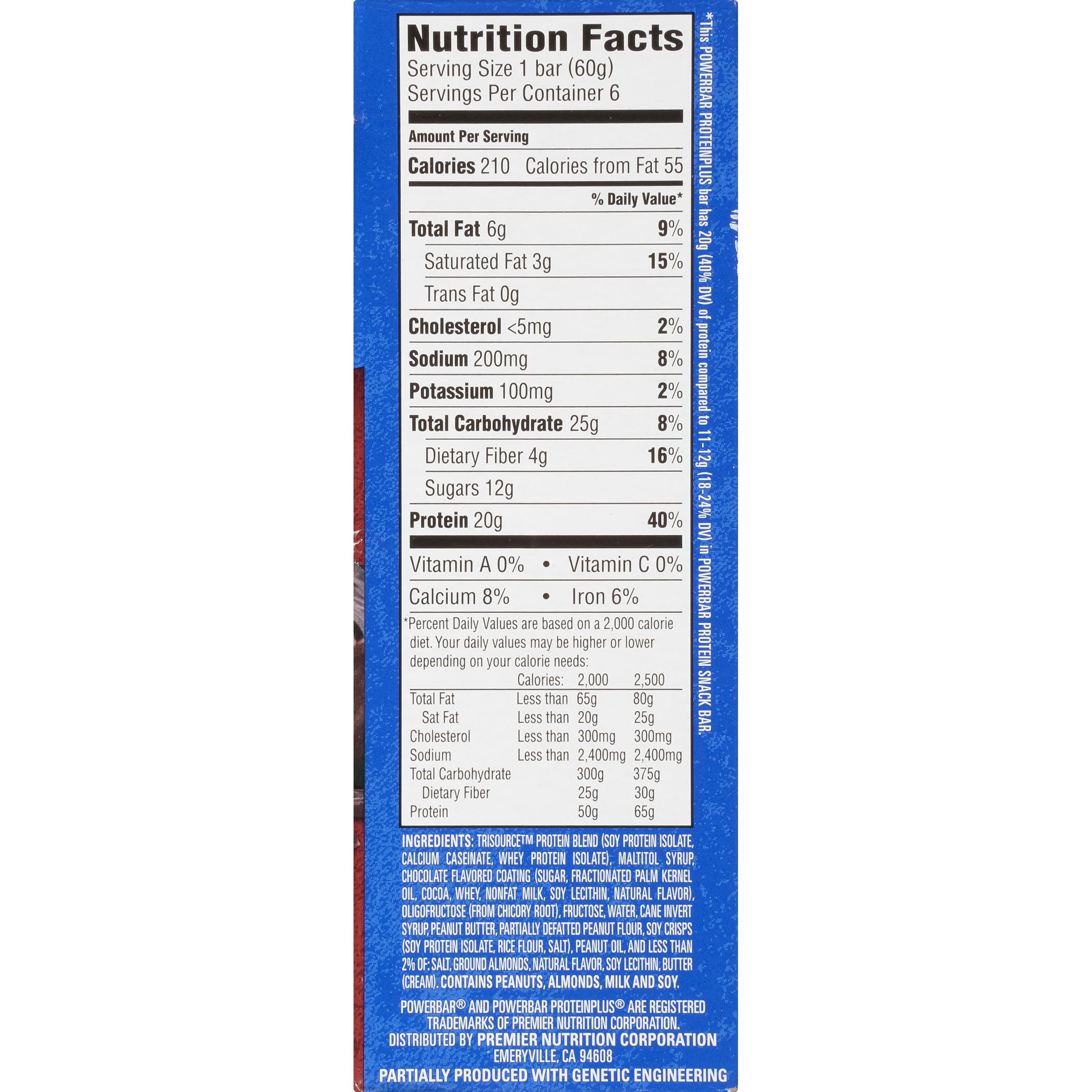 PowerBar Protein Bar, Chocolate Peanut