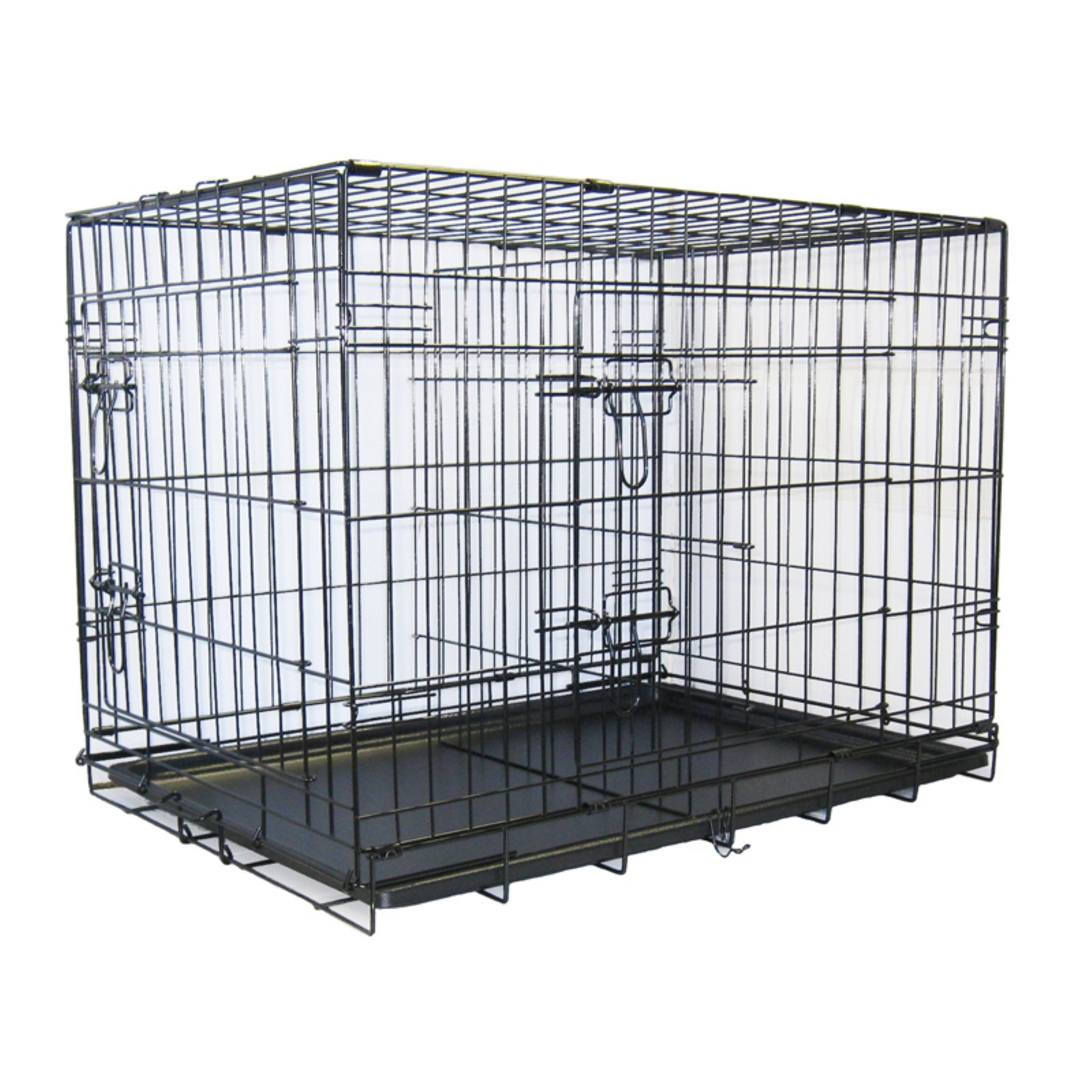 Go Pet Club Metal Cage with Divider