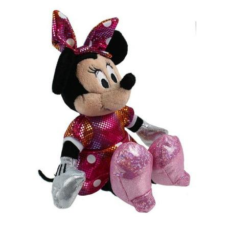 Rainbow Monkey Plush (Ty Inc Beanie Babies Plush Stuffed Animal Disney Minnie Mouse Rainbow)