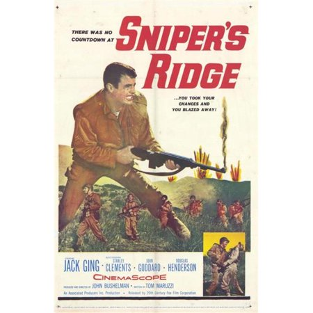 Posterazzi MOVEH0108 Snipers Ridge Movie Poster - 27 x 40 in. - image 1 of 1