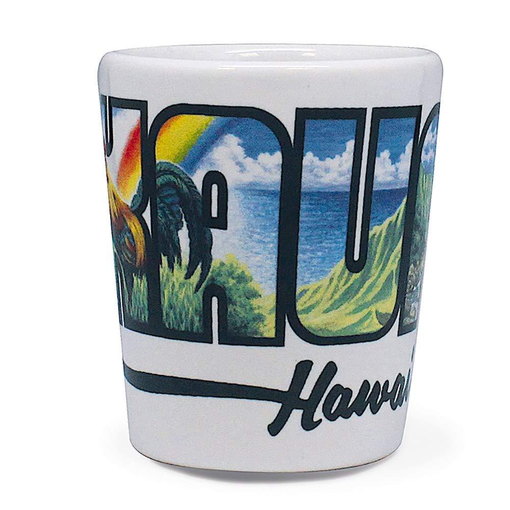Hawaiian Ceramic Shot Glass Kauai