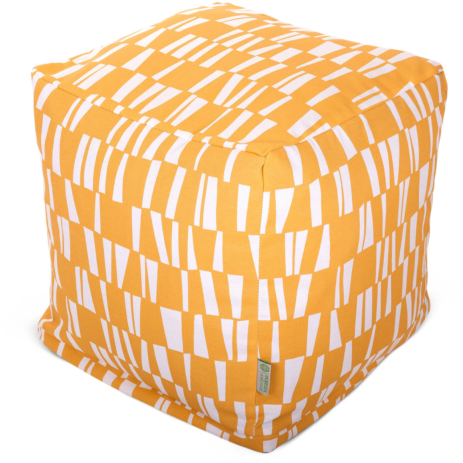 Majestic Home Goods Citrus Sticks Bean Bag Cube, Indoor/Outdoor