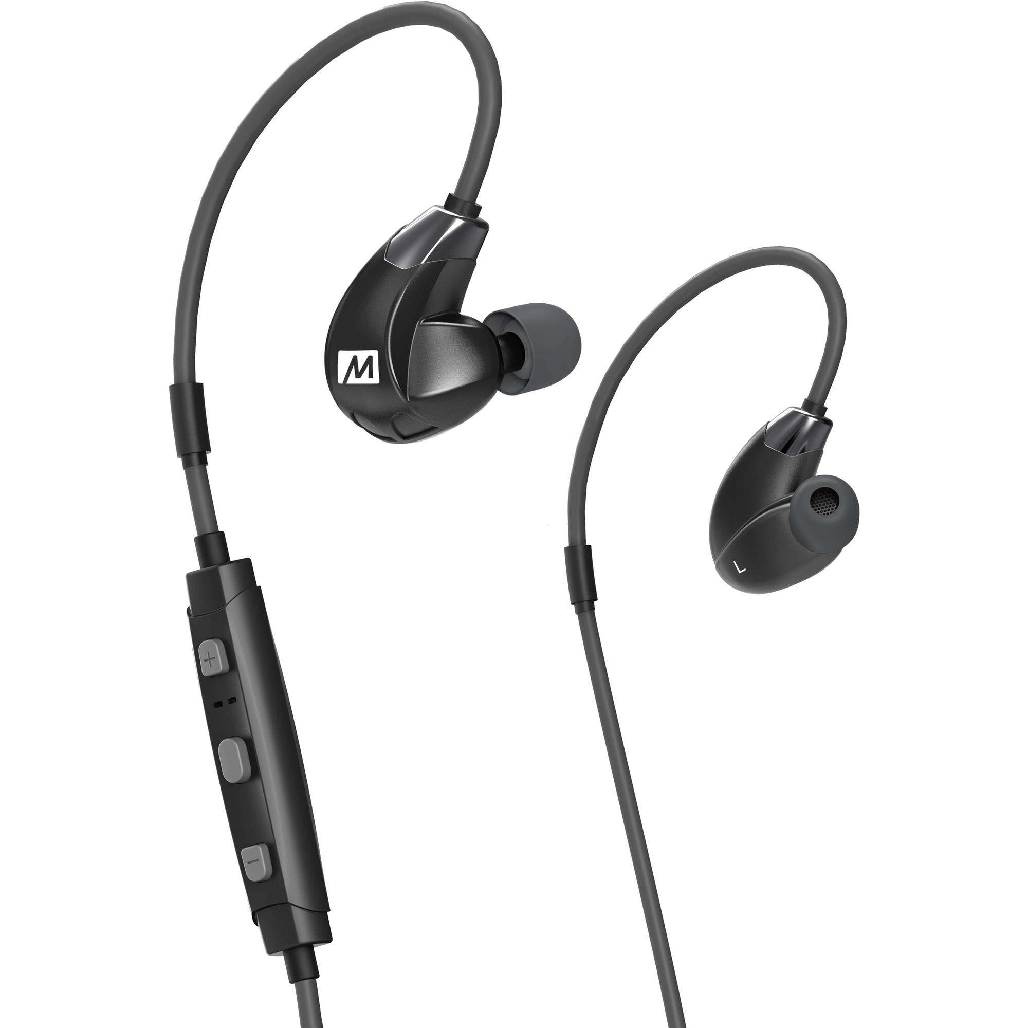 9577e3d1555 MEE audio X7 Plus Stereo Bluetooth Wireless Sports In-Ear HD Headphones  with Memory Wire and Headset - Walmart.com