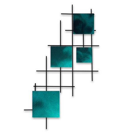 7055 Inc Satellite Squares Wall D
