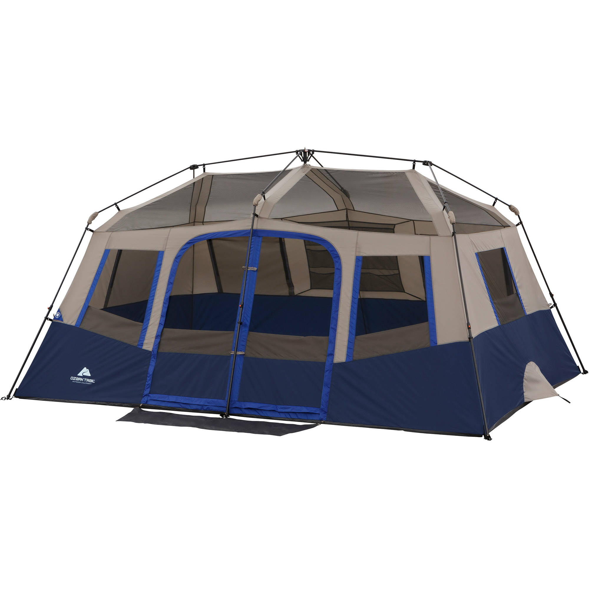 Ozark Trail 10 Person 2 Room Instant Cabin Tent Ebay