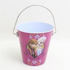 Disney Frozen Anna & Elsa Frozen Princesses Tin Bucket Party - Elsa Party Favors
