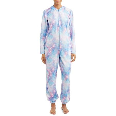 Body Candy Womens Celestial Sleepwear Unionsuit