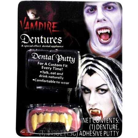 Big Bubba Vampire Teeth Halloween Accessory
